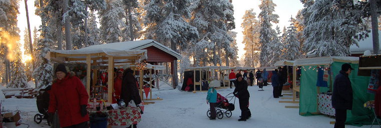 © Anna Jones: Winter Market by the Arctic Circle in Arjeplog, Sweden